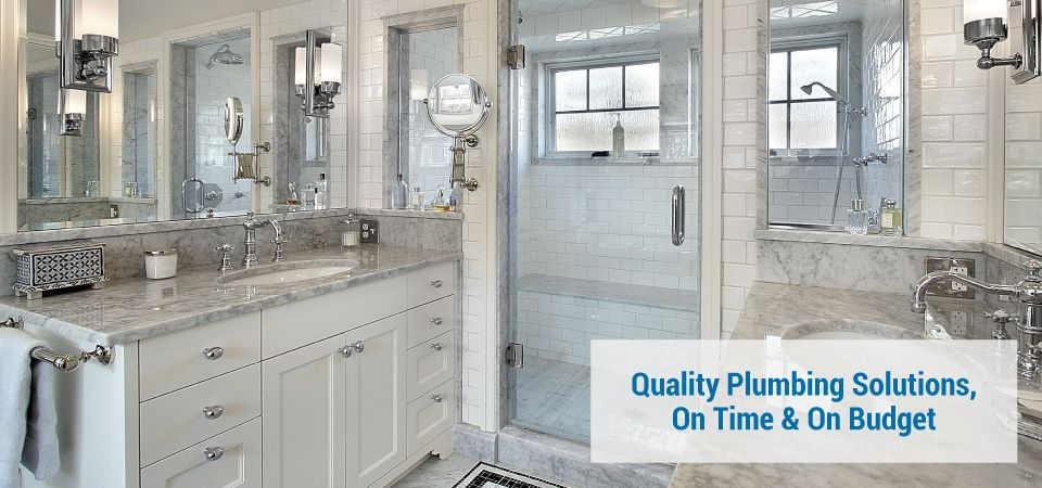 luxury bathroom quality plumbing solutions on time & on budget